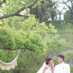 ウエディングドレス前撮りの写真 4枚目