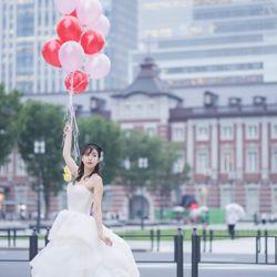 東京駅前撮りの写真 3枚目