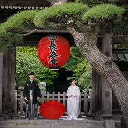 鎌倉 和装前撮りの写真 3枚目