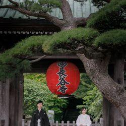 鎌倉 和装前撮りの写真 4枚目