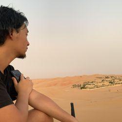 ハネムーンリワ砂漠の写真 2枚目