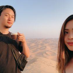 ハネムーンリワ砂漠の写真 4枚目