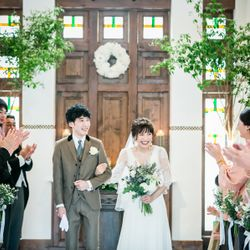 Orange Vert(オランジュ:ベール)での結婚式