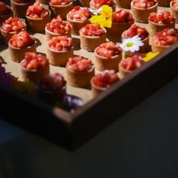 ウェディングケーキとデザートビュッフェの写真 2枚目