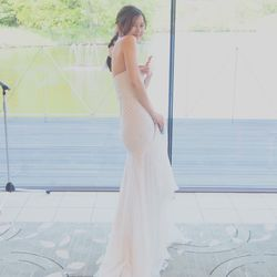 ウェディングドレス1の写真 1枚目