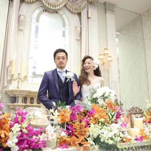 aimi.k_weddingさんの百花籠(Neo Japanesque Wedding)写真2枚目