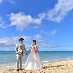 前撮り@ハワイの写真 4枚目