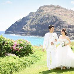 挙式・お支度・ガーデン@ハワイの写真 4枚目