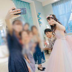 カラードレスの時の写真の写真 3枚目
