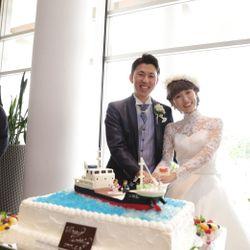 披露宴入場〜ケーキ〜乾杯の写真 3枚目