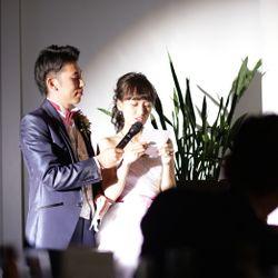 手紙〜花束贈呈〜新郎挨拶の写真 1枚目