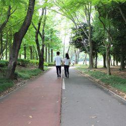 【前撮り】2人の母校(高校)と茨城前撮りの写真 1枚目