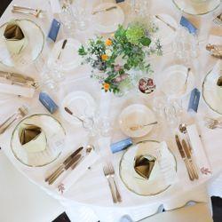 高砂、装花、テーブルコーディネートの写真 1枚目