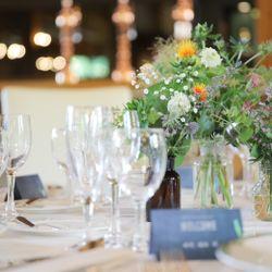 高砂、装花、テーブルコーディネートの写真 3枚目