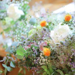 高砂、装花、テーブルコーディネートの写真 7枚目