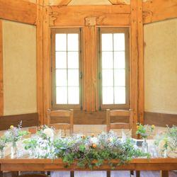 高砂、装花、テーブルコーディネートの写真 4枚目