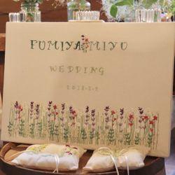 高砂、装花、テーブルコーディネートの写真 9枚目