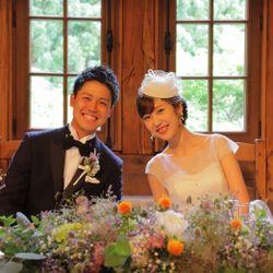 披露宴最初:トーク帽の写真 1枚目