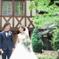 式場撮影タキシード、ウエディングドレスの写真 1枚目