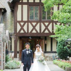 式場撮影タキシード、ウエディングドレスの写真 3枚目