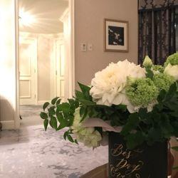 装花、ウェルカムスペースなどの写真 1枚目