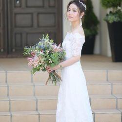 ウェディングドレスの写真 15枚目