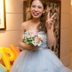 ドレス、ブライダルヘアの写真 6枚目