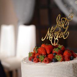 ❁装花 高砂 ケーキの写真 2枚目