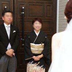 新婦両親とのファーストミートの写真 2枚目