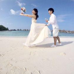 honeymoon モルディブの写真 2枚目