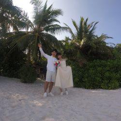 honeymoon モルディブの写真 3枚目