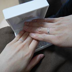 結婚指輪手作り(G.festa)の写真 1枚目