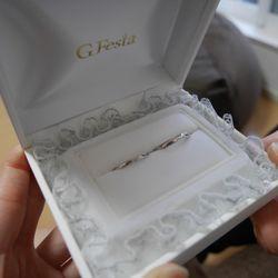 結婚指輪手作り(G.festa)の写真 4枚目