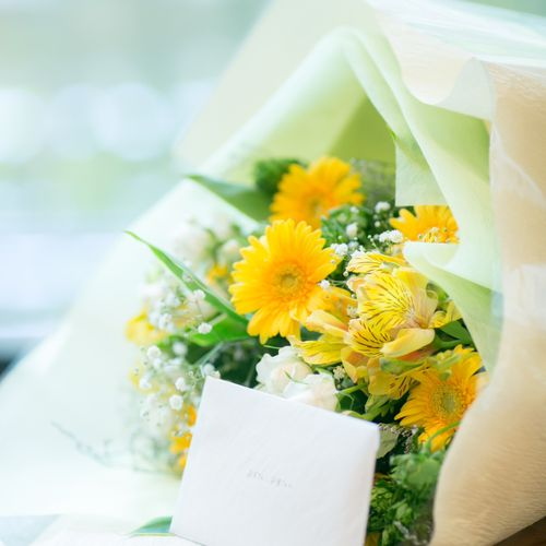 両親への花の写真 1枚目