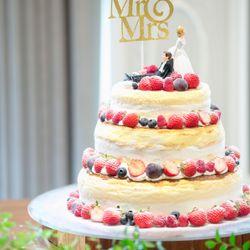 装花、高砂、WDケーキの写真 3枚目