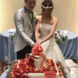 ケーキ入刀・ファースト&サンクスバイトの写真 30枚目