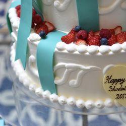 ティファニーケーキの写真 1枚目