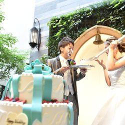 ケーキ入刀・ファーストバイトの写真 16枚目