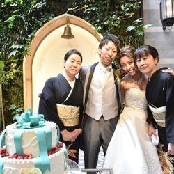 ケーキ入刀・ファーストバイトの写真 3枚目