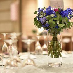 テーブル装花の写真 1枚目