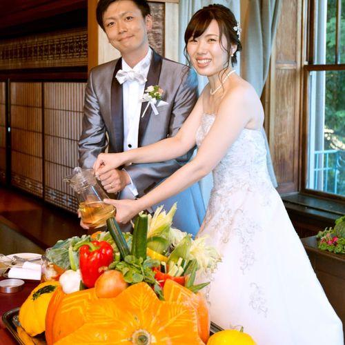 神戸迎賓館旧西尾邸での披露宴の写真 1枚目