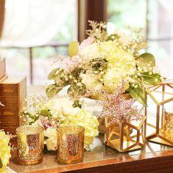 高砂-テーブル装花の写真 2枚目