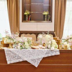 高砂-テーブル装花の写真 3枚目