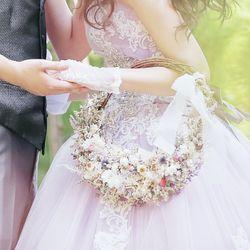 生花ブーケ-リースブーケの写真 3枚目