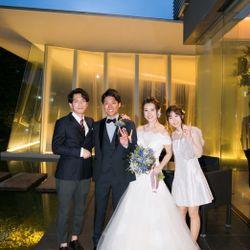 結婚式(お色直し入場〜お見送り)の写真 32枚目