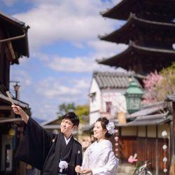 前撮り(和装_京都東山)の写真 5枚目