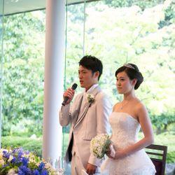 結婚式(披露宴入場〜お色直し退場)の写真 5枚目