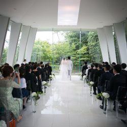 結婚式(お支度~挙式)の写真 10枚目