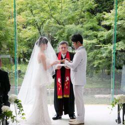 結婚式(お支度~挙式)の写真 7枚目