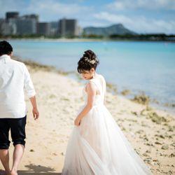 ハワイ前撮りの写真 2枚目